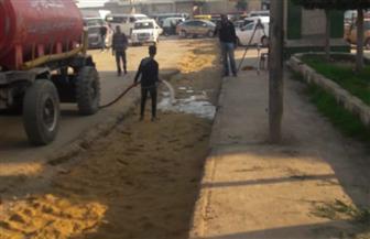 محافظ الغربية يتابع أعمال رصف وتطوير شوارع  كفر الزيات ويوجه بمراجعة الإنارة العامة | صور