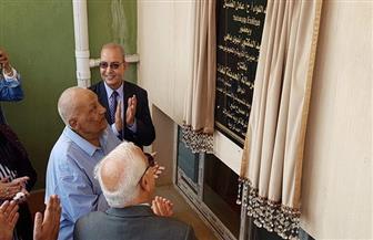 محافظ بورسعيد يفتتح مدرسة الرسالة الحديثة تستوعب 1039 طالبا |صور