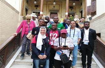 اللجنة المنظمة لبطولة كأس أمم إفريقيا تعد رحلة إلى مجمع الأديان |صور