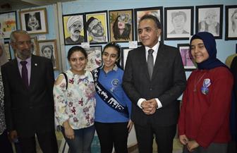 جامعة المنصورة تفتتح معرضها التاسع للكتاب بمشاركة 60 دار نشر |صور