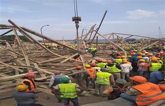 النيابة تنتدب لجنة فنية لتحديد ملابسات انهيار برج ضغط عالي في أوسيم ومصرع ٥ عمال