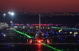 تصادم طائرتين على مدرج مطار فرانكفورت غربي ألمانيا