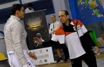شريف البكري: أداء محمد عامر بكأس العالم لسلاح السيف مبهر