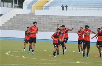 المنتخب الوطني يختتم تدريباته لمواجهة جزر القمر غدا | صور