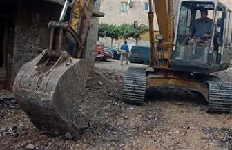 محافظ الغربية يتابع أعمال الرصف الجارية بمدينة زفتى بتكلفة 6 ملايين جنيه | صور