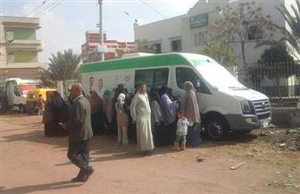 علاج 2850 مواطنا في قافلتين طبيتين بكفرالشيخ | صور