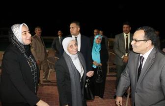 نائب محافظ شمال سيناء يستقبل رئيس الهيئة القومية لضمان جودة التعليم | صور
