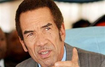 رئيس بوتسوانا يحضر مباراة منتخب بلاده أمام الجزائر