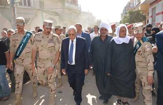 تشييع جثمان الشهيد أحمد سالم بتمي الأمديد.. ومحافظ الدقهلية يقدم العزاء | صور