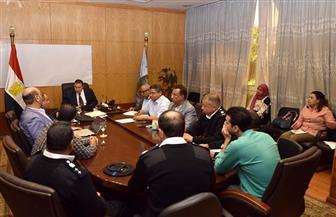 سكرتير محافظة الأقصر يناقش المرحلة الثانية لتركيب منظومة كاميرات المراقبة | صور