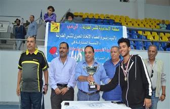 عمار عطية يحرز ذهبية بطولة الجمهورية لتنس الطاولة للشباب