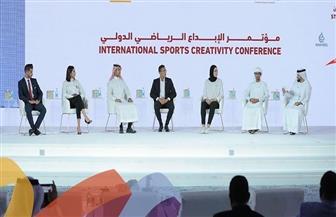 أحمد الجندي يتحدث في مؤتمر الإبداع الرياضي الدولي بالإمارات |صور