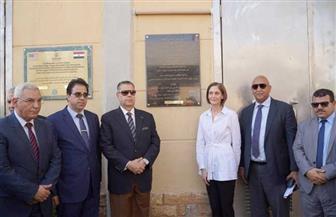 مصر وأمريكا تفتتحان نظام رفع مياه الصرف الصحي في بني سويف | صور