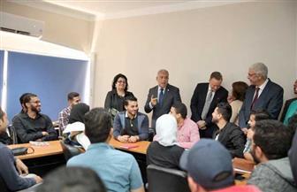 انطلاق مركز التطوير المهني بجامعة المنوفية بدعم أمريكي | صور
