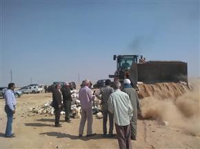 تنفيذ 67 حالة إزالة تعد على أملاك الدولة والأراضي الزراعية بسوهاج