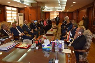 المستشار المنشاوى يستقبل رئيس المحكمة الدستورية العليا اليوم | صور