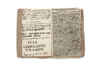 مخطوطة تاريخية لشارلوت برونتي تعود إلى متحفها