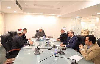 """""""البحوث الإسلامية"""" يناقش مجموعة من البرامج التنفيذية لتكثيف جهود المواجهة الفكرية"""