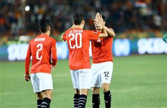 عبدالرحمن مجدي يسجل الهدف الثاني في مرمى جنوب إفريقيا