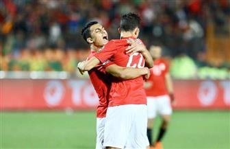 مصر تتقدم بالهدف الثالث أمام جنوب إفريقيا