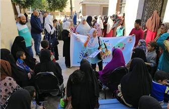 جامعة القاهرة تطلق قافلة طبية شاملة إلى قرية نكلا بالجيزة | صور