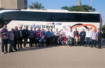 """انطلاق قافلة جامعة المنصورة الطبية والبيطرية المتكاملة """"جسور الخير 6"""" لجنوب سيناء"""