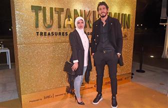 أحمد حجازي يحضر افتتاح معرض توت عنخ آمون بالعاصمة البريطانية لندن