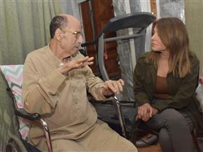 سميرة سعيد تزور الموسيقار جمال سلامة للاطمئنان على صحته| صور