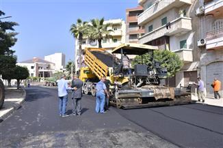 مدينة مرسى مطروح: حصر الأعمال بشارع الشيخ عطيوة تمهيدا للرصف