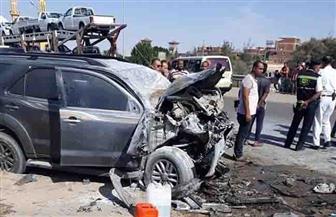إصابة 6 أشخاص في 3 حوادث تصادم بالسويس