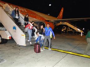 هبوط أولى رحلات أكبر شركة طيران فى العالم بمطار مرسى علم