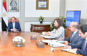 الرئيس السيسي يوجه بتحديث منظومة النقل في مصر بشكل شامل
