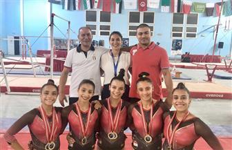 منتخبات مصر الأربعة تفوز بالمراكز الأولى بالبطولة العربية للجمباز الفني بتونس | صور