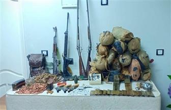 مصرع عنصر إجرامي خطر في تبادل إطلاق النيران مع الشرطة بأسوان وبحوزته أسلحة ومخدرات