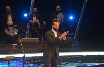 سعد رمضان يوجه تحية للشعب اللبناني خلال حفله بمهرجان الموسيقى العربية |صور
