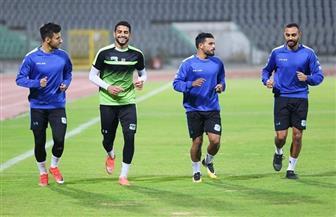 """""""المصري"""" يستعيد لاعبيه الدوليين قبل السفر إلى موريتانيا"""