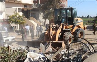 إزالة 354 حالة تعد على أملاك الدولة بكفر الشيخ | صور