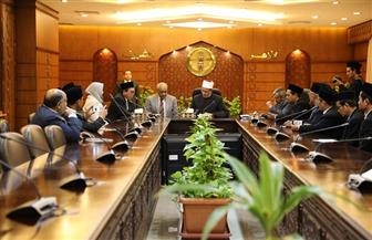 وفد إندونيسي: الأزهر أهم المؤسسات الدينية في العالم وكعبة العلم الوسطي المستنير| صور
