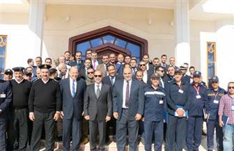 وزارة الطيران تكرم العاملين بمطار شرم الشيخ بعد حادث الطائرة الأوكرانية
