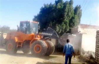 إزالة تعديات بمنطقة أبو سيال بحي الجناين على مساحة 16.8 آلف متر