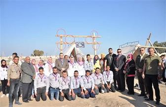 افتتاح مخيم اليوم الواحد لعشائر الجوالة بجامعة كفر الشيخ | صور