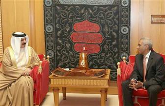 السفير المصري الجديد في المنامة يقدم أوراق اعتماده إلى ملك البحرين
