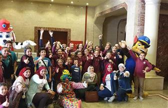 سينما ومسرح عرائس فى احتفالات المركز الثقافي في طنطا بعيد الطفولة | صور