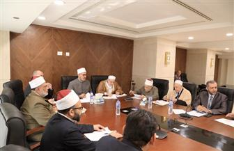 لجنتا بحوث القرآن والسنة تناقشان عددا من المشروعات العلمية | صور