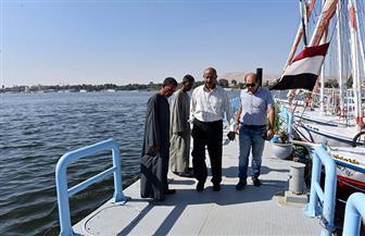 تطوير شامل لمراسي المراكب الشراعية واللنشات السياحية بالأقصر