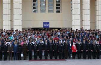 أكاديمية الشرطة تستقبل 450 شابا وفتاة من طلبة الجامعات المصرية