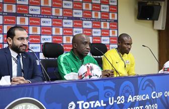 مدرب جنوب إفريقيا يكشف سر سعادته باحتفال لاعبي مصر واستعدادات مواجهة غانا