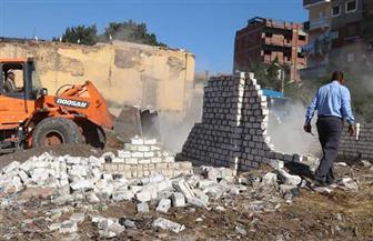 إزالة 361 حالة على مساحة 75831 متر مبان و12 فدان أرض زراعية من أملاك الدولة بكفرالشيخ | صور