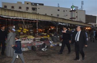 حملة مكبرة لإزالة كل الإشغالات بمنطقة سوق شرق السكة الحديد بالأقصر | صور