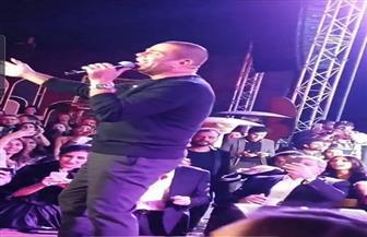 عمرو دياب يشعل حفل مهرجان القاهرة السينمائي الدولي|فيديو